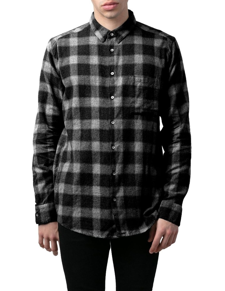 Check Western Relaxed Long Sleeve Shirt image 1