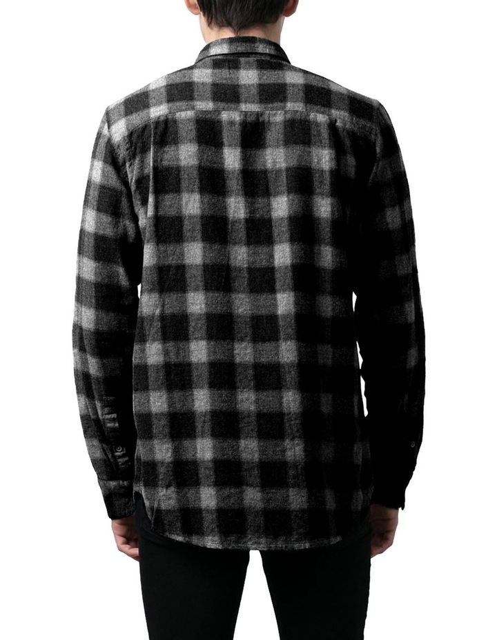Check Western Relaxed Long Sleeve Shirt image 3
