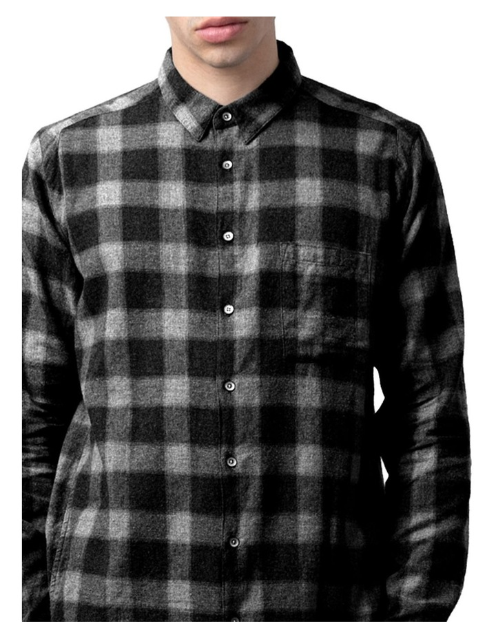 Check Western Relaxed Long Sleeve Shirt image 4