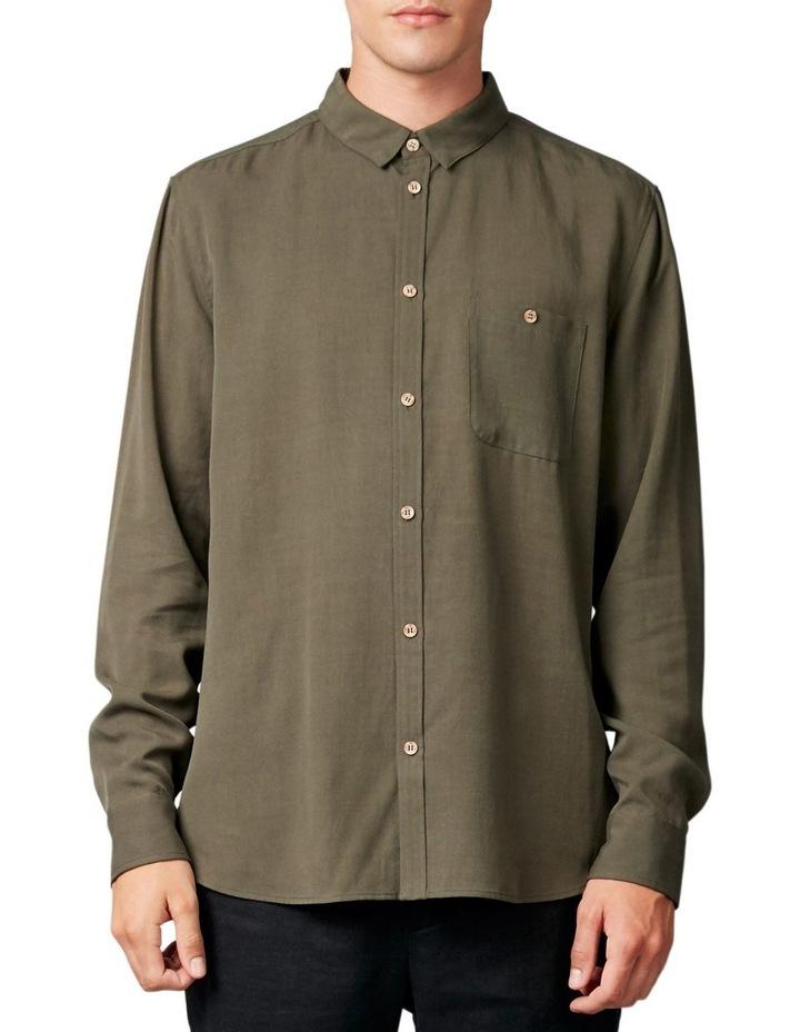Satoshi Shirt Khaki image 1