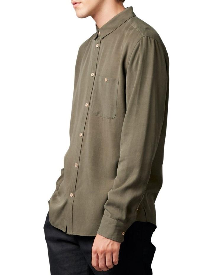 Satoshi Shirt Khaki image 2