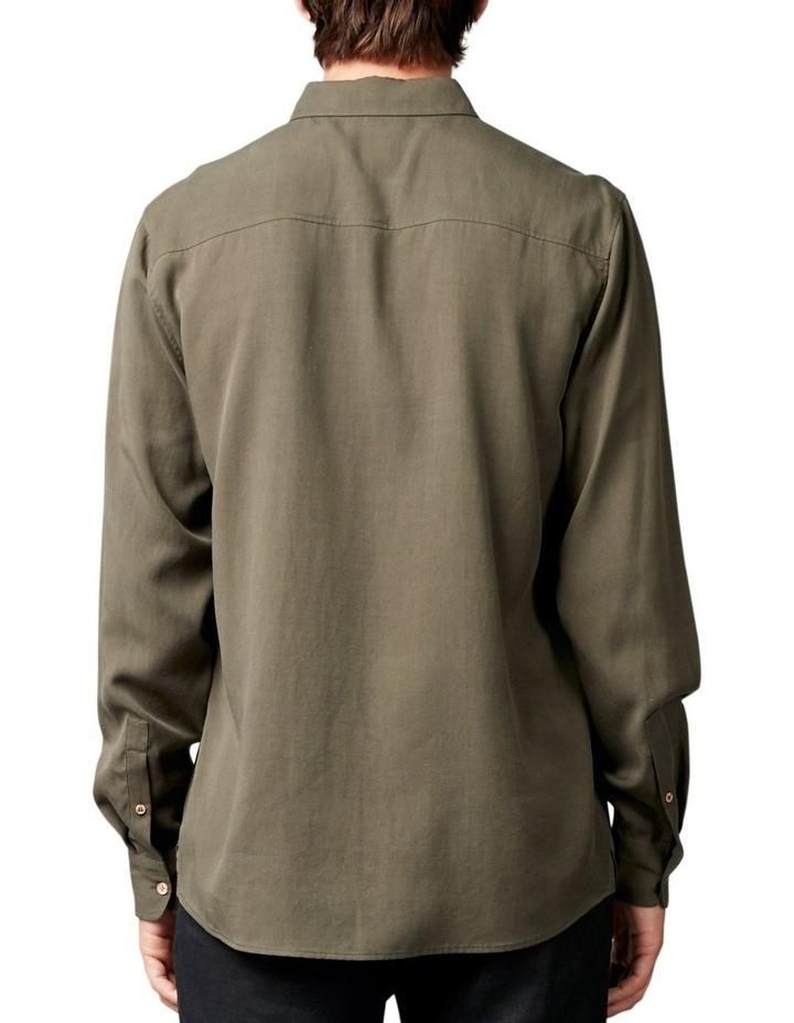 Satoshi Shirt Khaki image 3