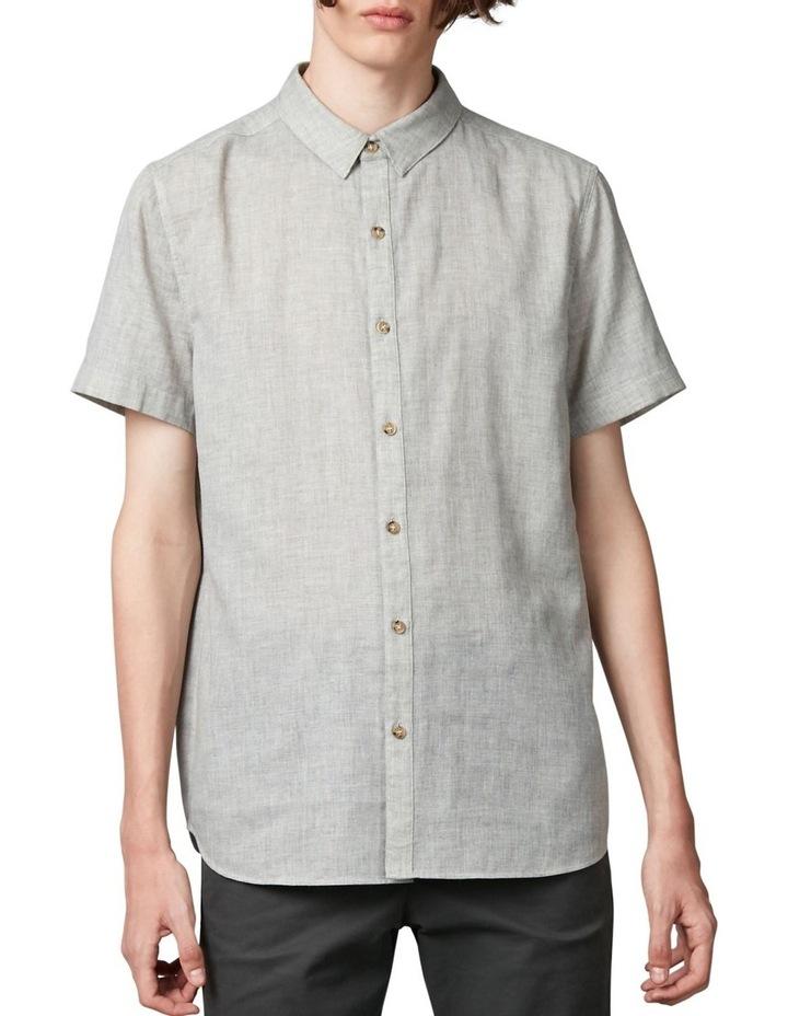 Tiva Grey Regular Short Sleeve Shirt image 1