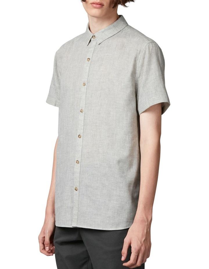 Tiva Grey Regular Short Sleeve Shirt image 2
