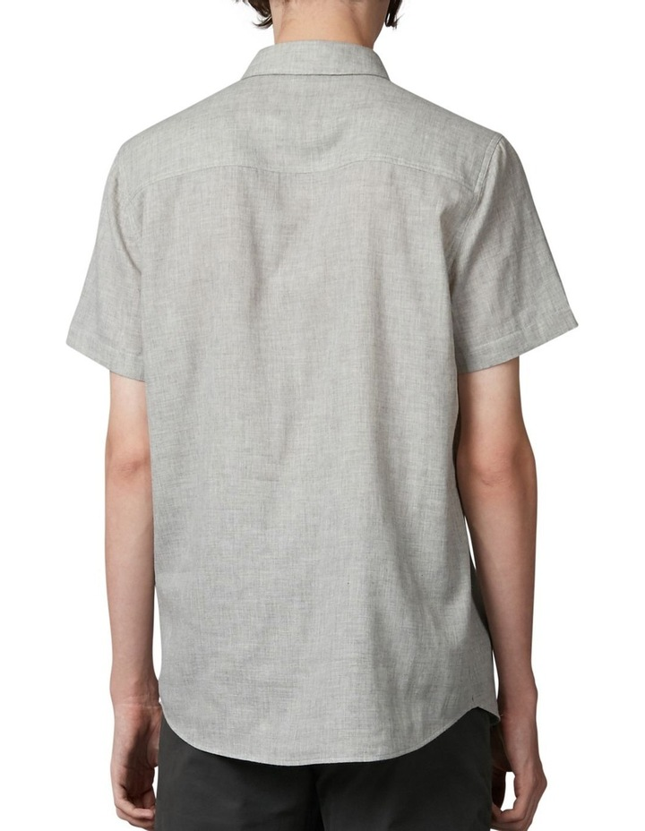 Tiva Grey Regular Short Sleeve Shirt image 3