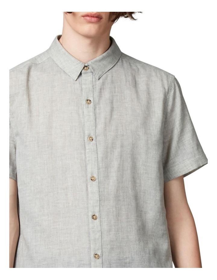 Tiva Grey Regular Short Sleeve Shirt image 4