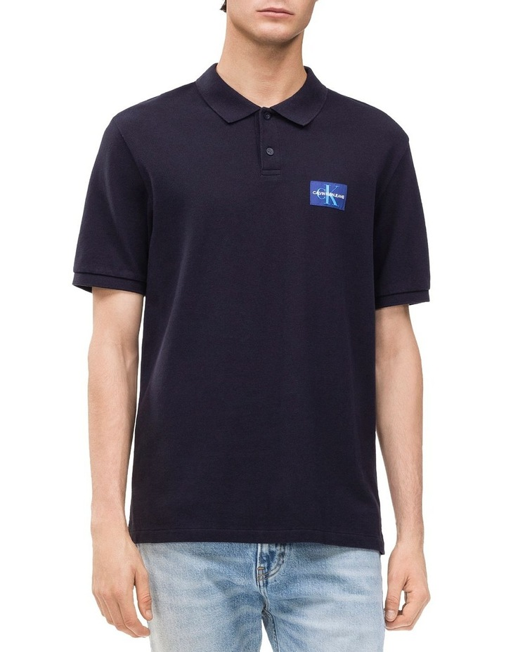 MONOGRAM LOGO REGULAR FIT POLO image 1
