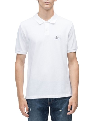 f4a596c12119c Calvin Klein JeansMONOGRAM LOGO REGULAR FIT POLO. Calvin Klein Jeans  MONOGRAM LOGO REGULAR FIT POLO