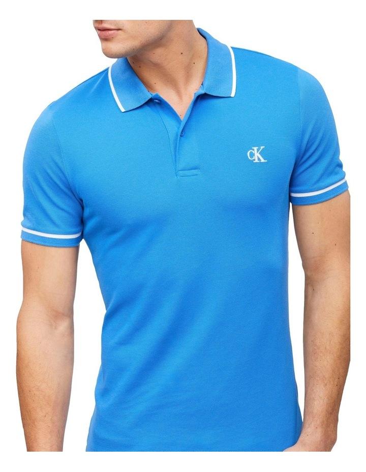Slim Stretch Piqu Polo Shirt image 2