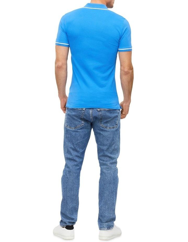 Slim Stretch Piqu Polo Shirt image 3