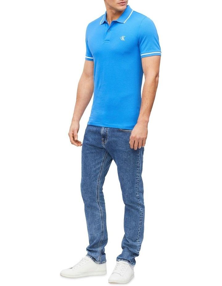 Slim Stretch Piqu Polo Shirt image 4