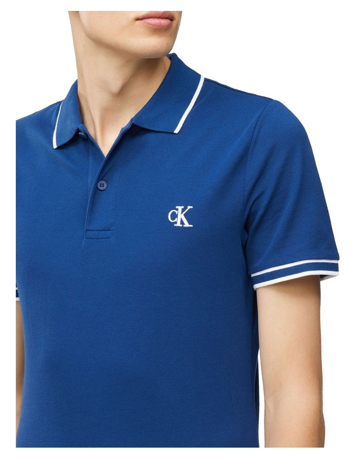Slim Stretch Pique Polo Shirt image 2