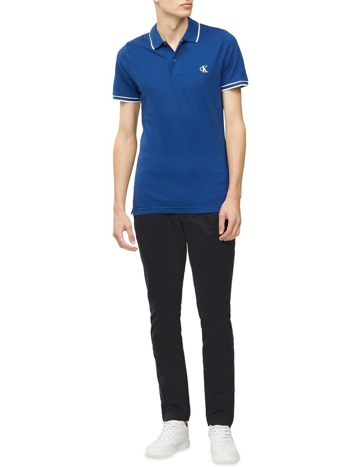 Slim Stretch Pique Polo Shirt image 3