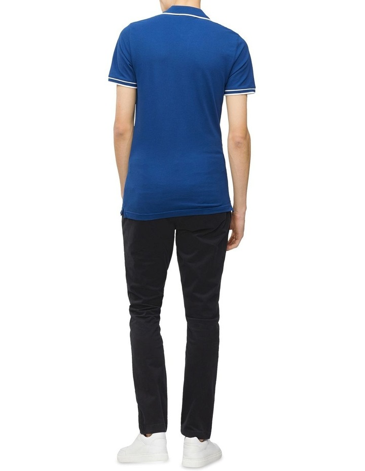 Slim Stretch Pique Polo Shirt image 4
