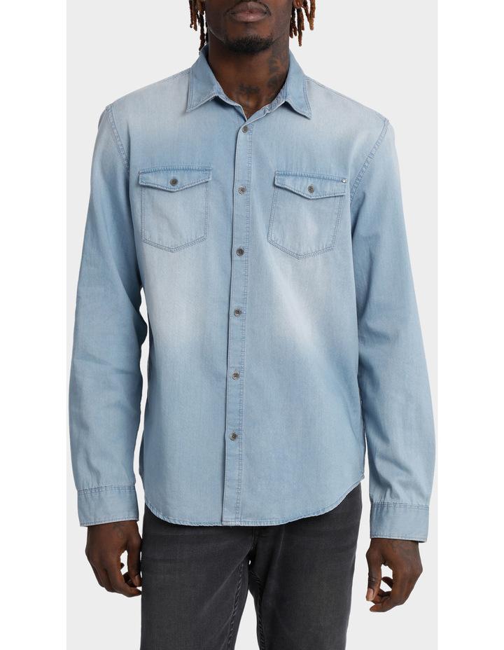 Basic Denim Shirt image 1