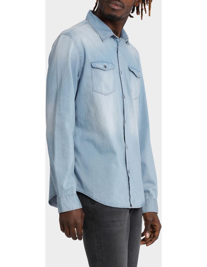 Basic Denim Shirt image 2