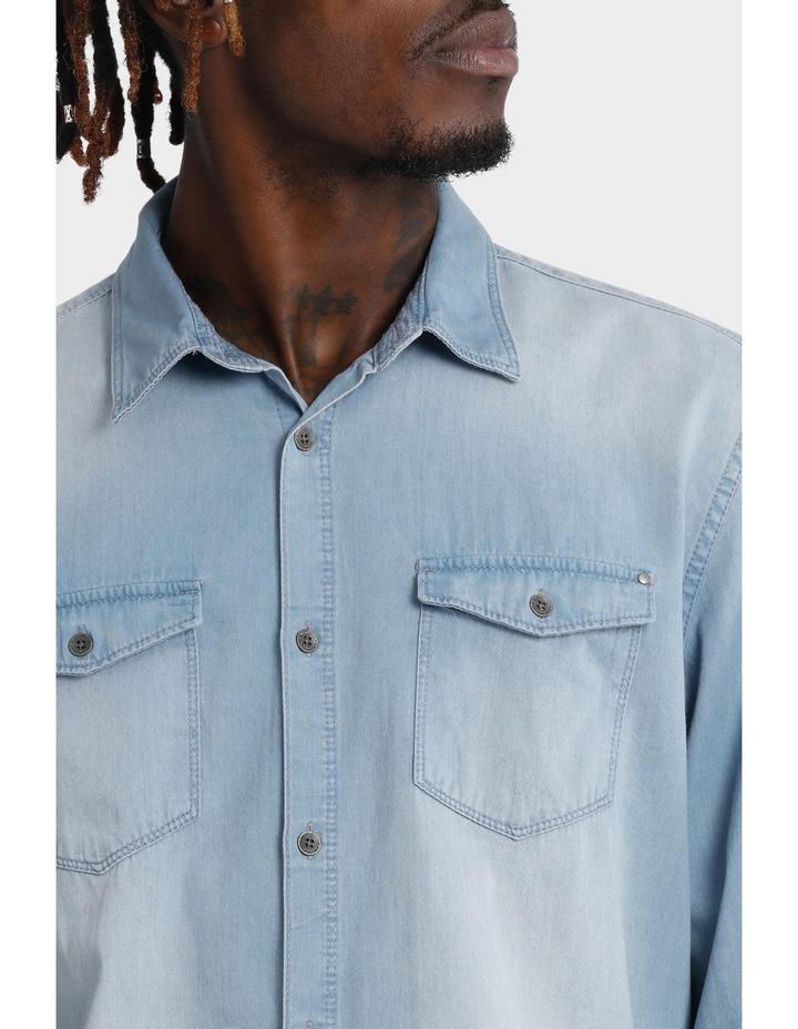 Basic Denim Shirt image 4