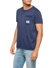 Calvin Klein Jeans - Washed Crew Pocket Tee
