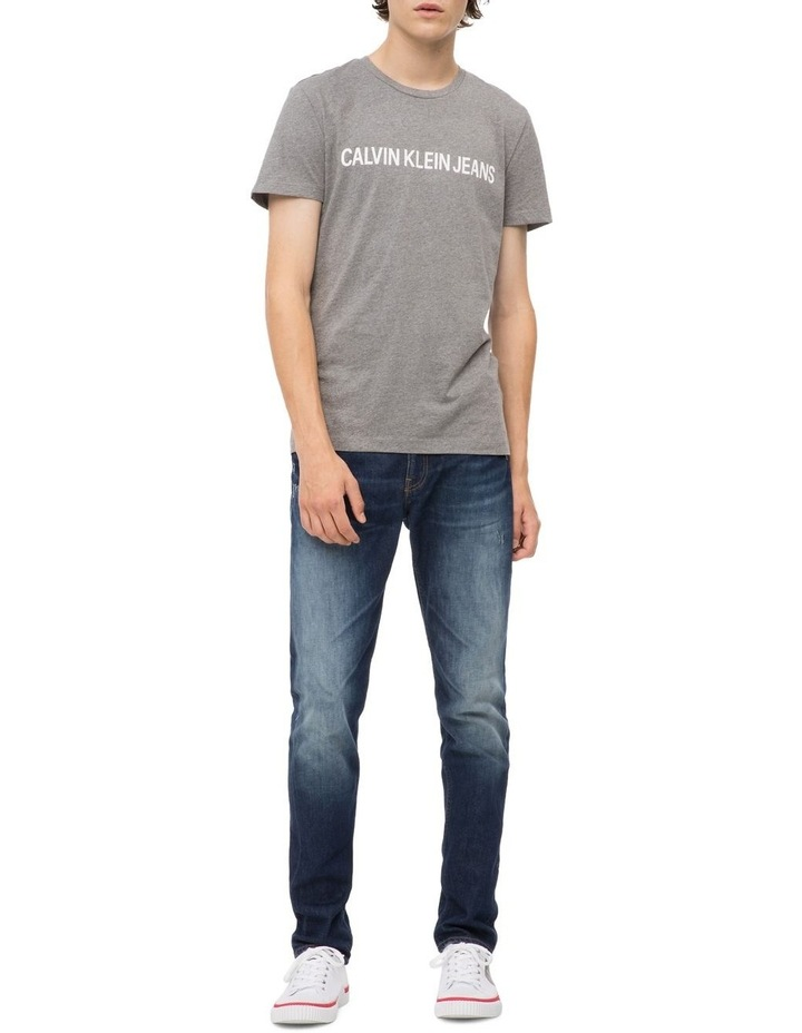 Calvin Klein Jeans Institutional Logo Slim Tee image 1