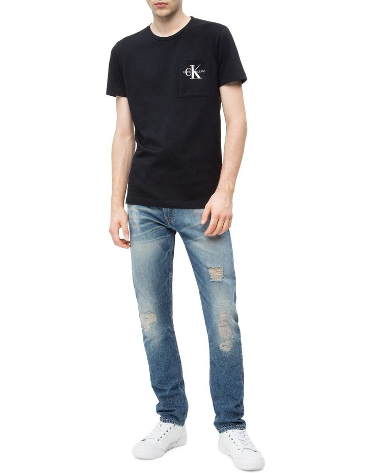 Monogram Pocket Slim T-Shirt image 2