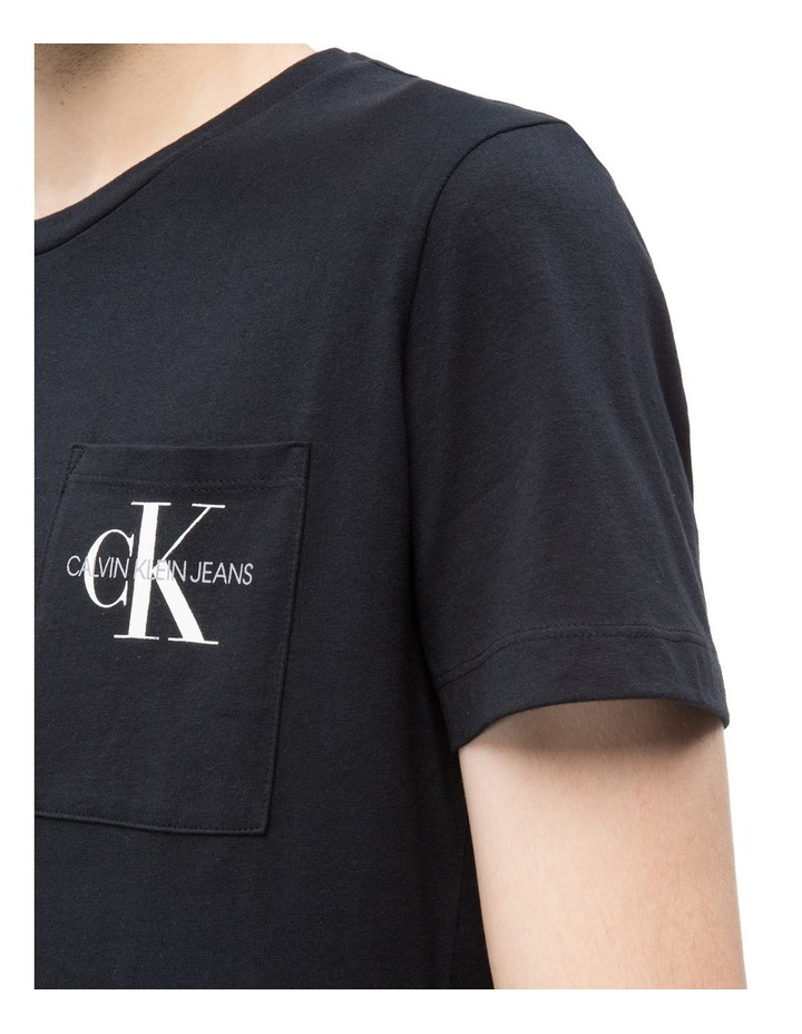 Monogram Pocket Slim T-Shirt image 3
