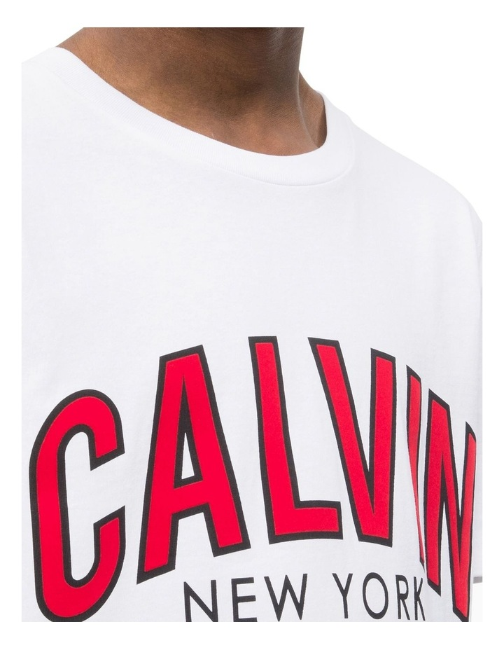 CALVIN CURVED VARSITY REG SS TEE image 3