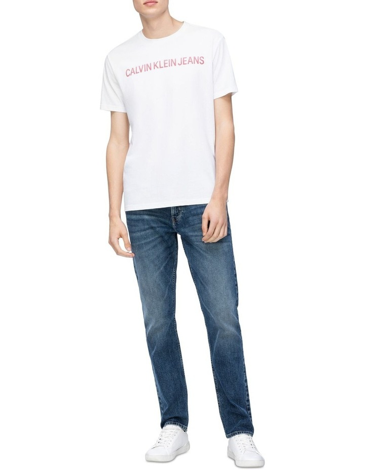 Textured Institutional Tee Bright White image 2