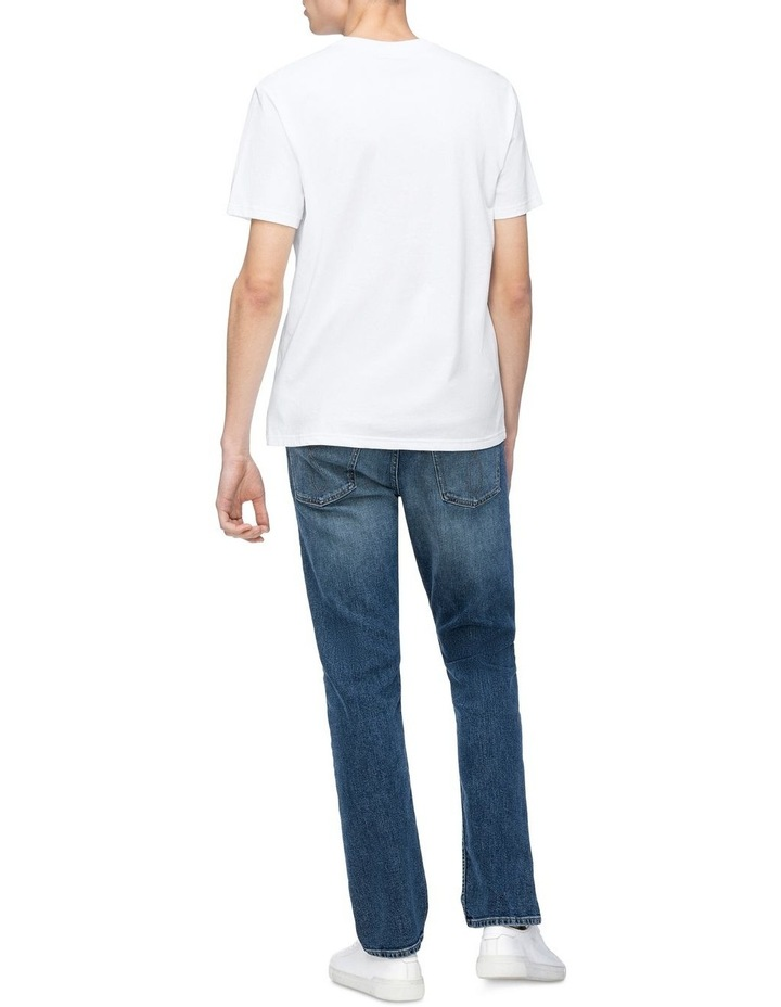 Textured Institutional Tee Bright White image 3