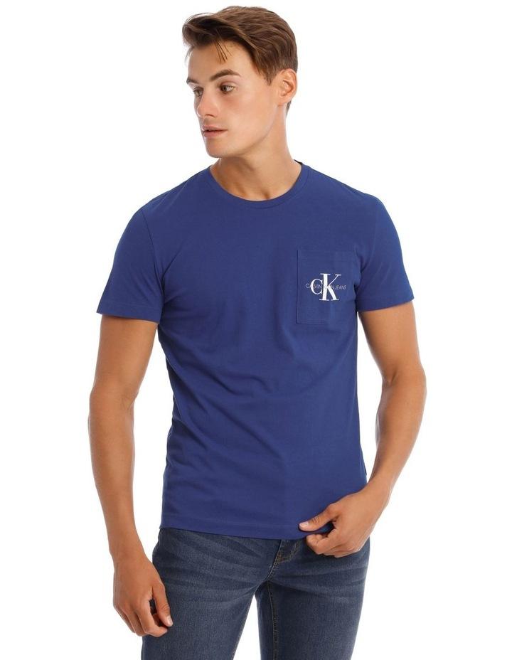 Monogram Pocket Slim T-Shirt image 1