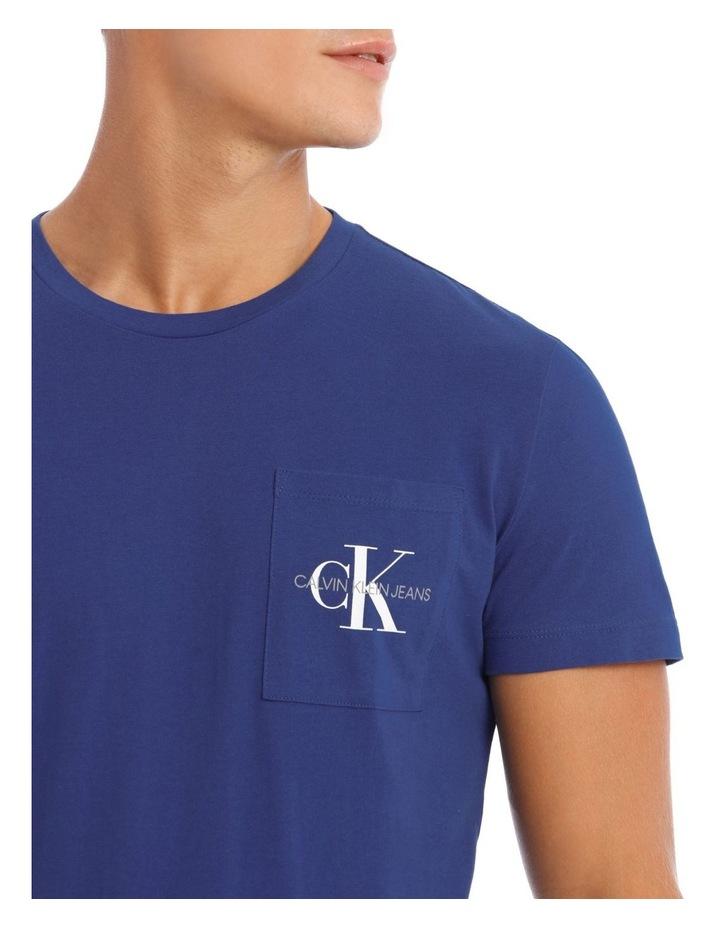 Monogram Pocket Slim T-Shirt image 4