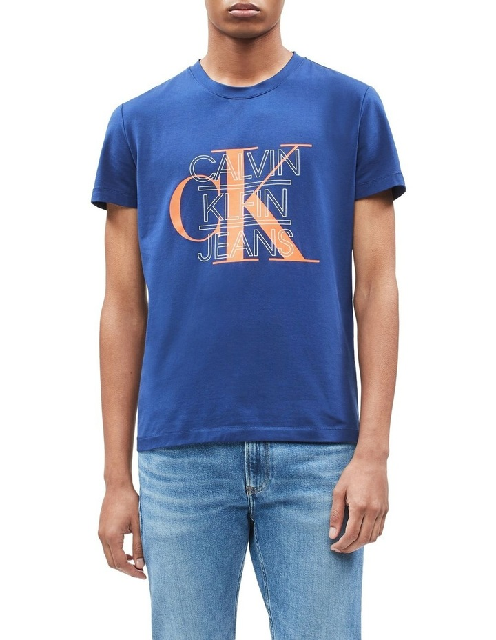 CK Graphic Slim Stretch Ss Tee image 1