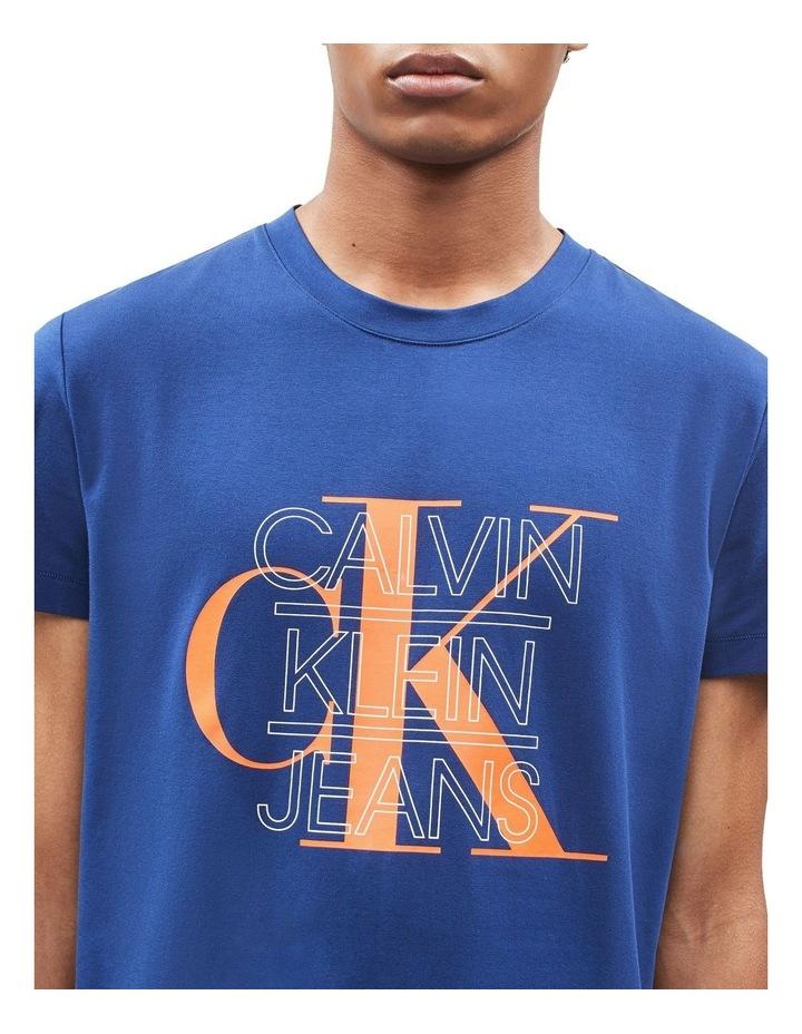 CK Graphic Slim Stretch Ss Tee image 4