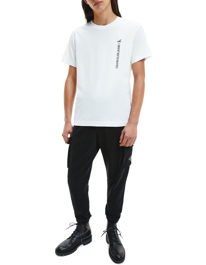 Vertical Back Graphic Tee image 2