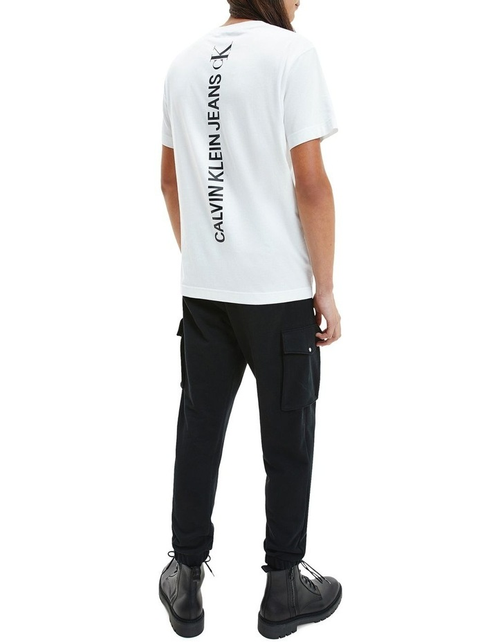 Vertical Back Graphic Tee image 4