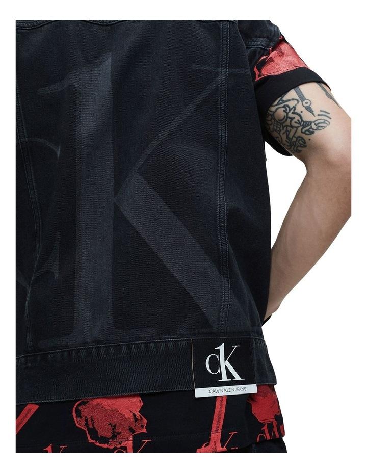 Oversized Denim Vest image 4