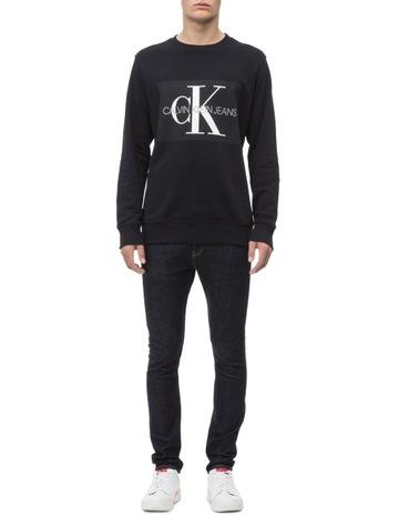 2dbad4165eda Calvin Klein JeansMonogram Logo Sweatshirt. Calvin Klein Jeans Monogram  Logo Sweatshirt