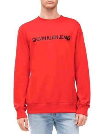 19c63c27466 Calvin Klein JeansINSTITUTIONAL LOGO REG CREW NECK. Calvin Klein Jeans  INSTITUTIONAL LOGO REG CREW NECK