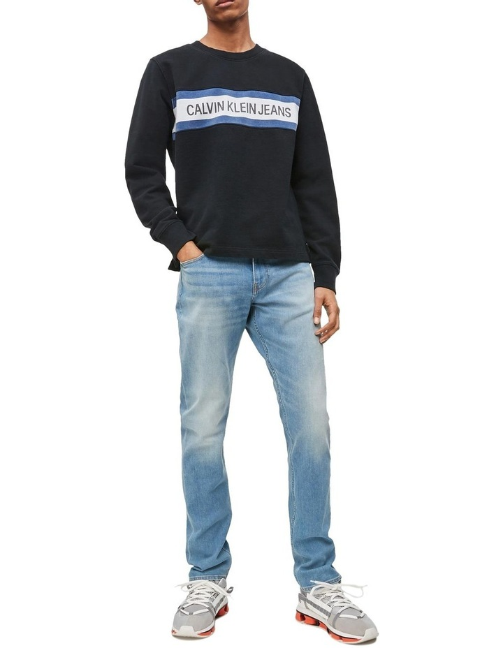 Institutional Front Stripe Sweat Top image 1