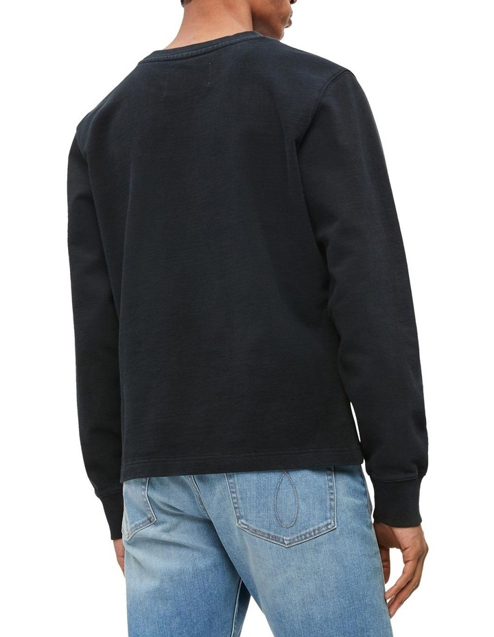 Institutional Front Stripe Sweat Top image 3