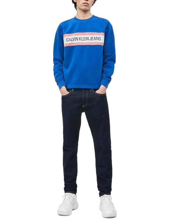 Institutional Front Stripe Sweat Top image 2
