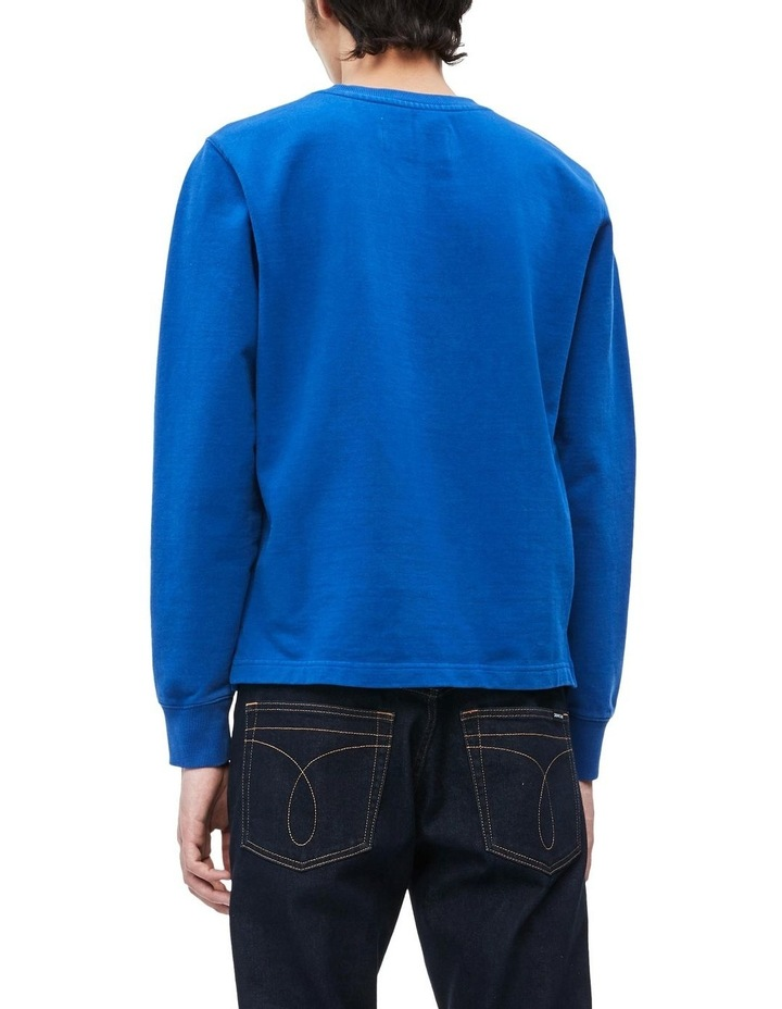 Institutional Front Stripe Sweat Top image 4