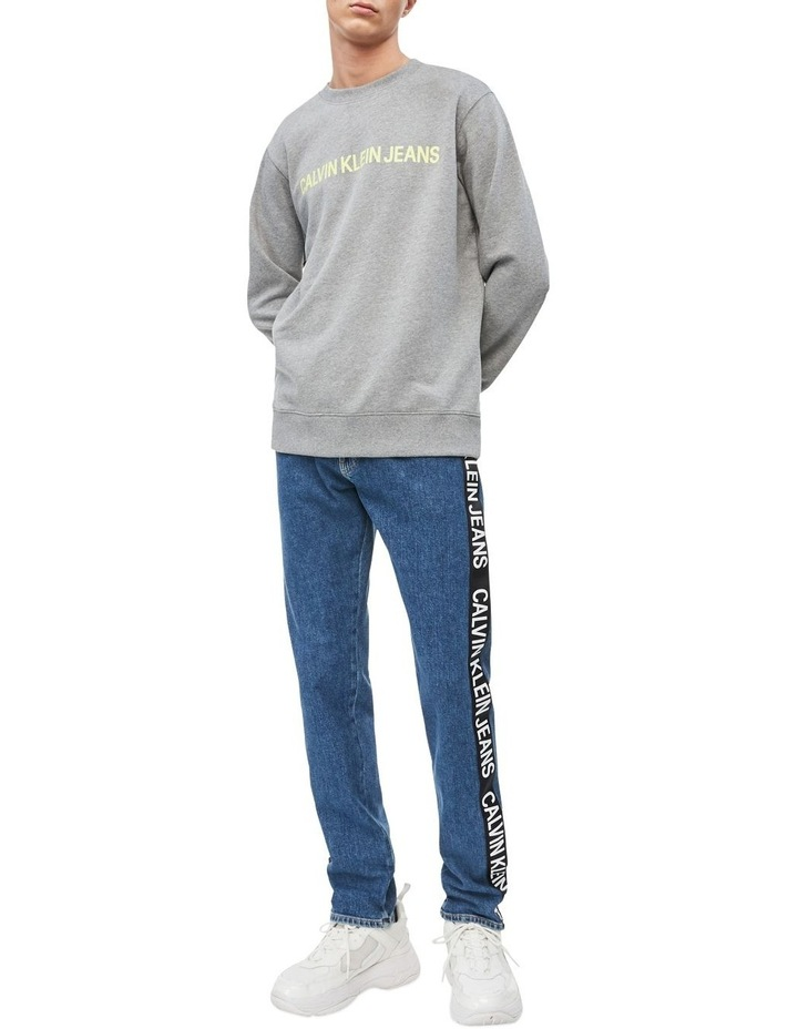 Institutional Logo Reg Sweat Top image 4