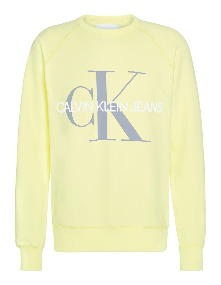 Vegetable Dye Monogram Crew Neck Sweat image 4