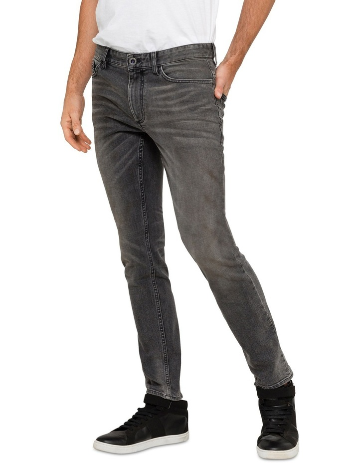 Slim Lead Black 5 Pkt Jean image 1