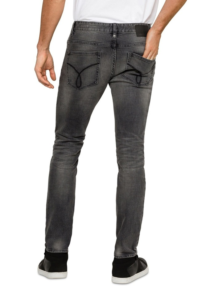 Slim Lead Black 5 Pkt Jean image 2