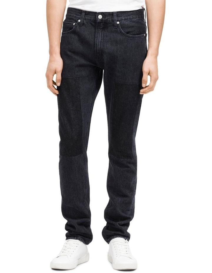 026: Slim Patched Jean image 1