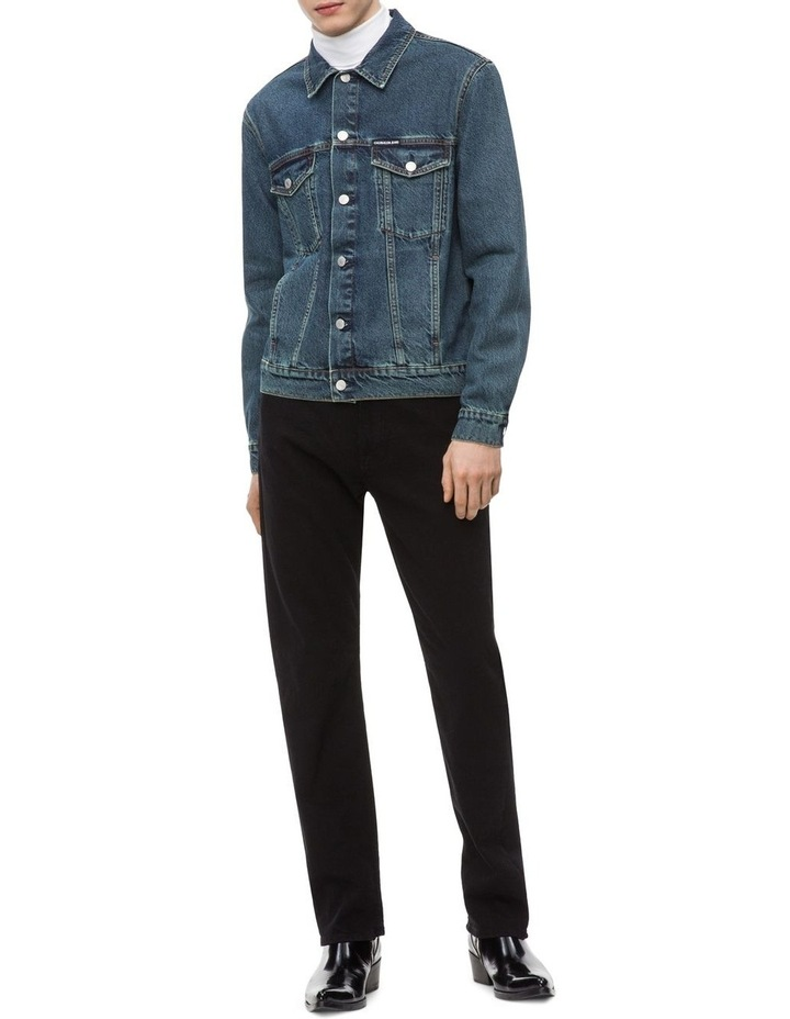 Calvin Klein Straight Cut Black Jean image 2