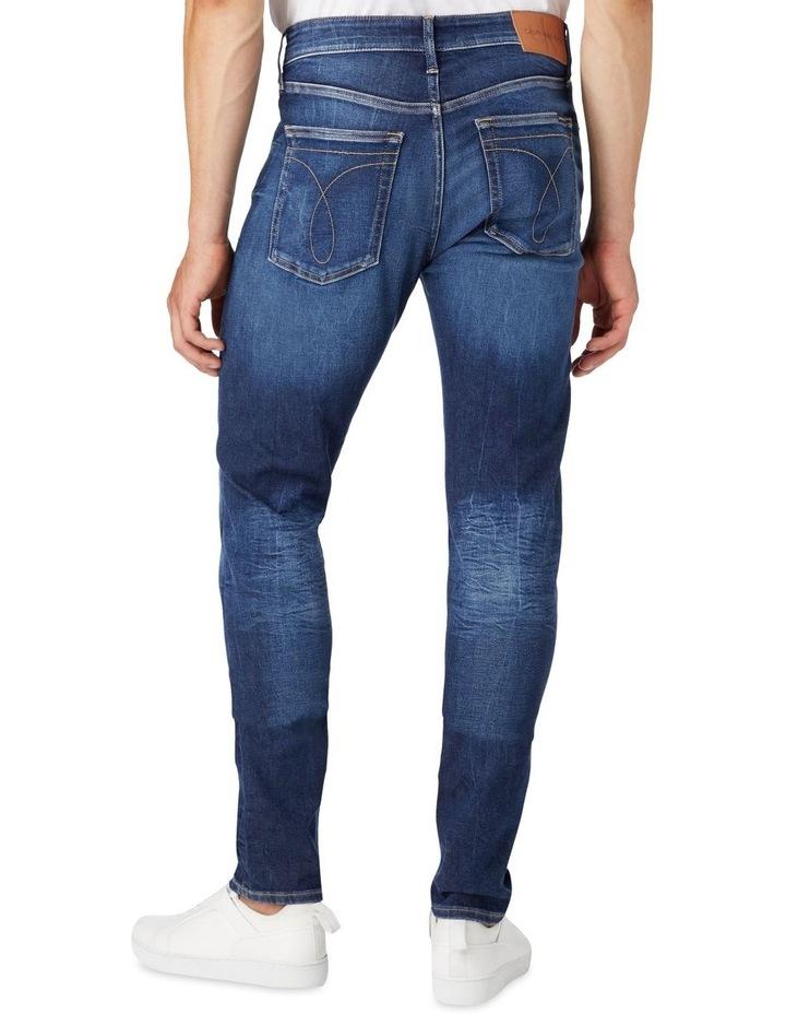 Slim Tapered Jeans Dark Blue image 2