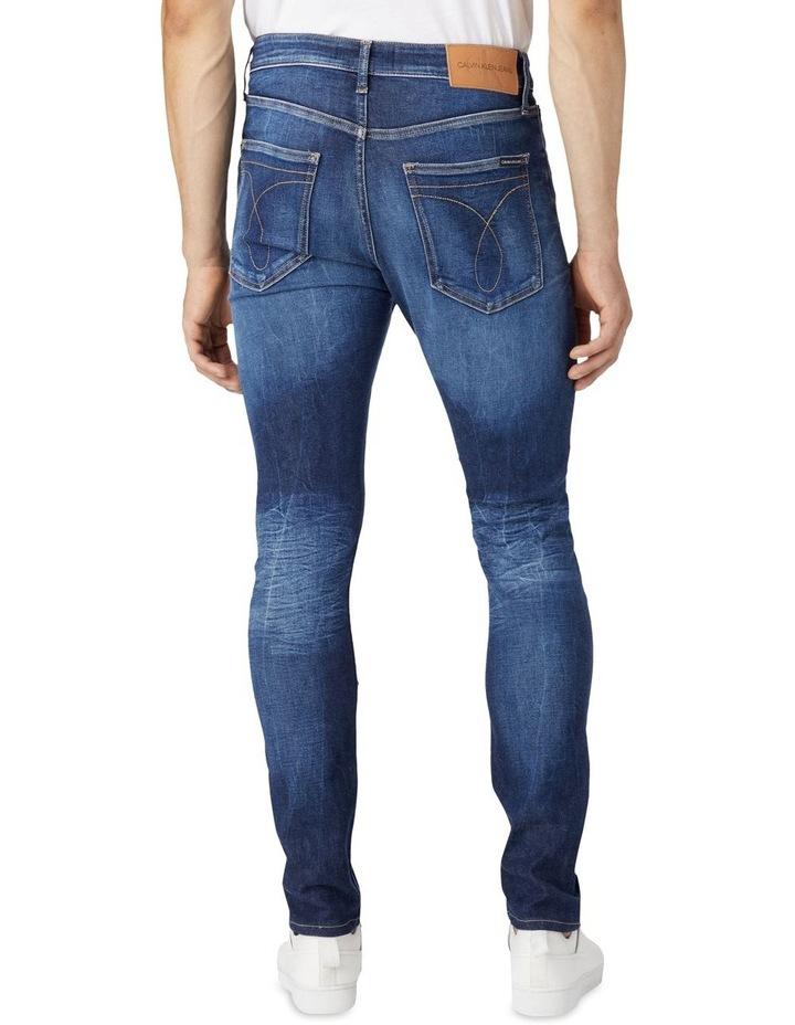 Skinny Jeans Dark Blue image 2
