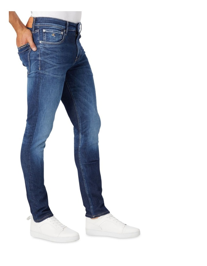 Skinny Jeans Dark Blue image 3